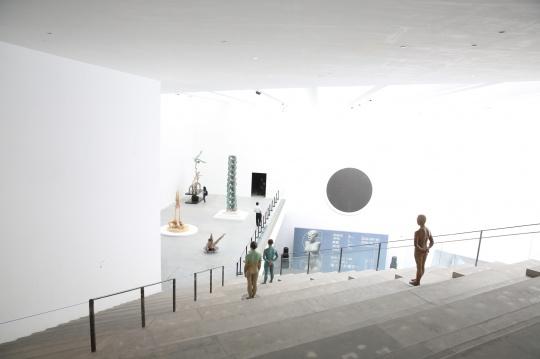 展览使用了北京民生美术馆三层空间