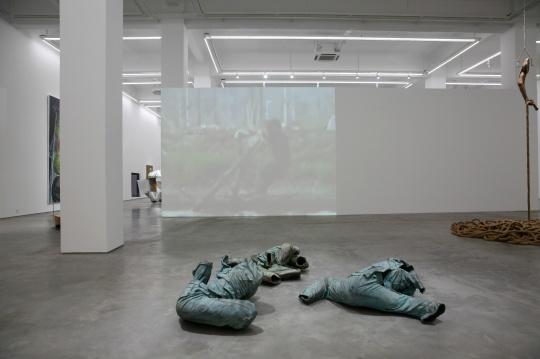 展览展出了13位/组艺术家的作品