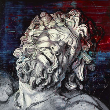"""""""散步""""在曾梵志的""""脑部结构"""" 观一名艺术家的三十年"""