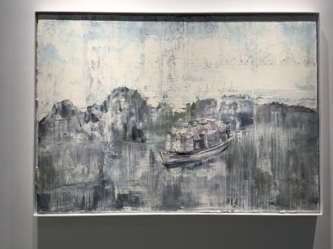 《起航 No.1》120 x 170 cm 布面油画 2016