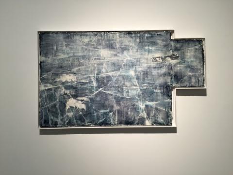 《咏叹调 No.1》50 x 60 cm 布面油画 2016