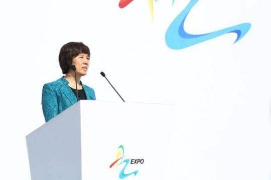 北京市通州区委副书记 杨静慧 致辞
