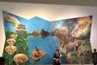 """良辰美景秋凉天 喻红个展""""游园惊梦""""于中央美术学院美术馆开幕,喻红,范迪安"""