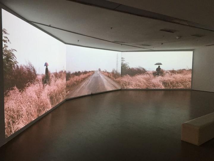 展览现场《独流碱河》三频视频 视屏截图 2012