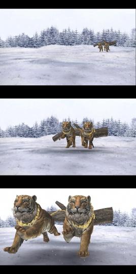 《金链猛虎》3D动画 视频截图 2016