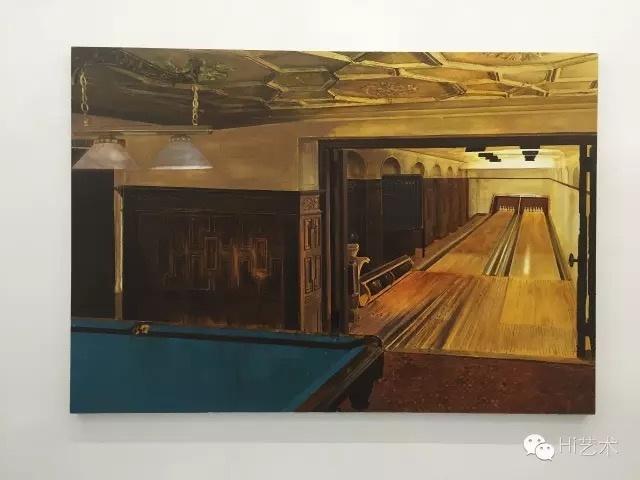 陈彧君 《临时家庭——美式风格》 180×260cm 布面油画 2011