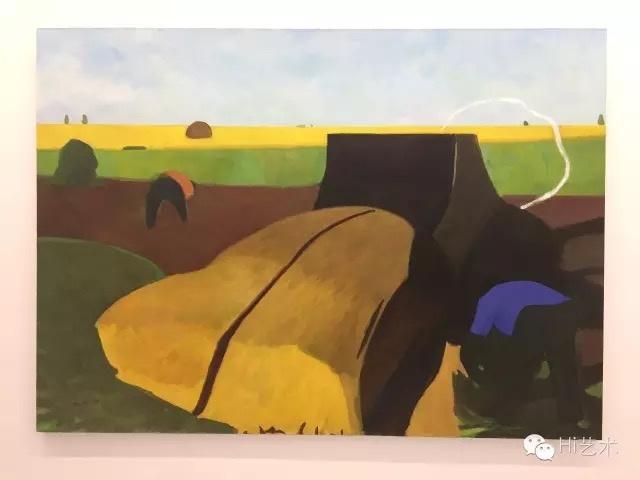 汤大尧 《丰收NO.1》 180×250cm 布面油画 2014