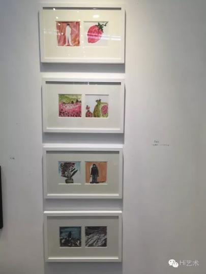 武汉的美术文献艺术中心带来的李继开的售价1.2万元的小幅手稿受到询价最多,也卖得最好