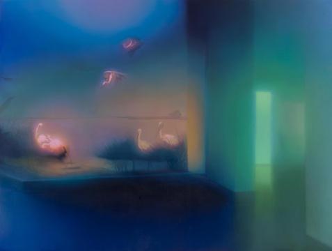 《Shore》225x300cm 布面油画 2016