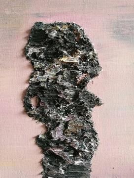 《石1》50×40cm 布面油画 2009-2015