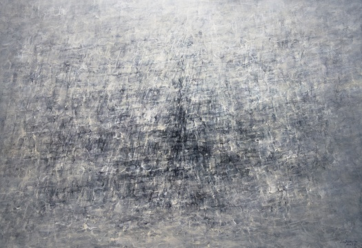 刘国夫《弥漫15》 130x160cm布面油彩 2016