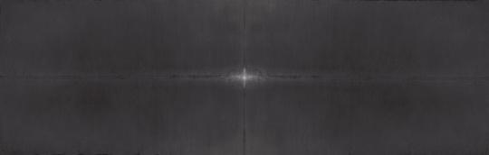 田卫《岁》298×97cm 宣纸水墨,矿物质色,水彩2014