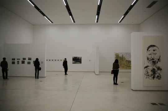 """""""永恒的抽象""""由两个展厅组成"""