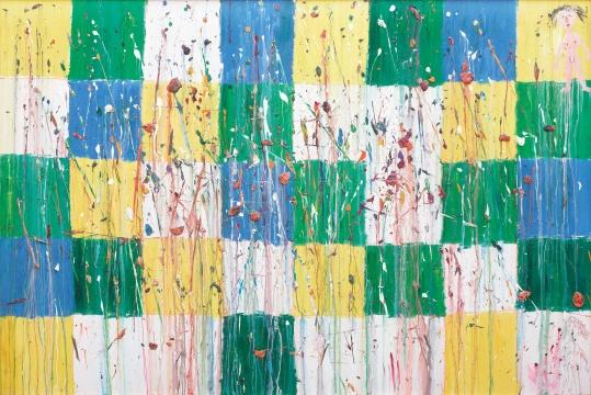 LOT76 欧阳春 《低等妓院》 200×300cm 布面油画 2006  估价:20万—30万元