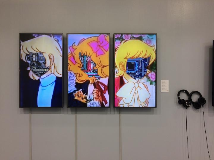 台湾尊彩艺术中心的台湾年轻艺术家作品,在50-70万台币不等。