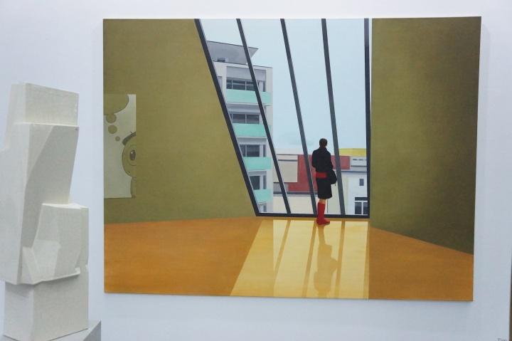 表现主义画家艾·托耳(Tim Eitel)两件作品分别在13万欧元和22玩欧元的价格上成交