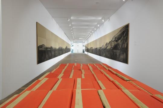 二十一世纪民生美术馆展览现场