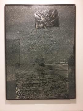 《齐格费里和布林希特的艰难之路》 270×170cm 在轧制的着色的铅上的照片 1988(MAP收藏)