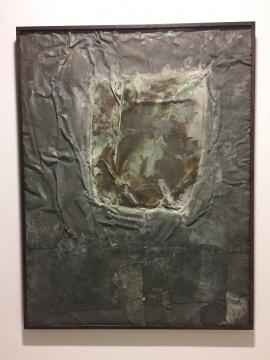 《杰森》 170×131 cm 氧化铜 1989