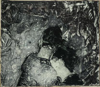 《边界 1》,2016,胶片,综合材料,95×110 cm