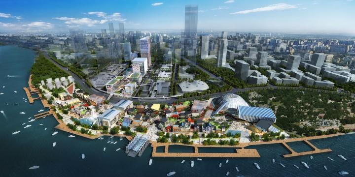 上海2018风景图