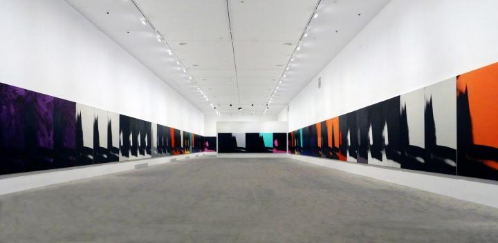 余德耀美术馆 安迪·沃霍尔:影子 展览现场