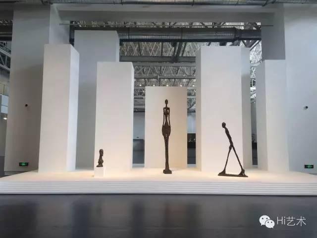 2016年余德耀美术馆和贾科梅蒂基金会合作举办了史上最大规模的贾科梅蒂回顾展