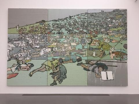 《唯物史观》 330×510cm 布面油画 2014