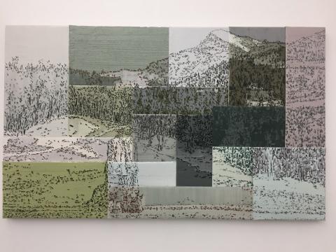 """佩斯画廊第六次李松松个展 呈现被""""平权""""后的视觉主次关系"""