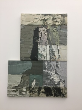 《走狗(四)》 201×150cm 布面油画 2015