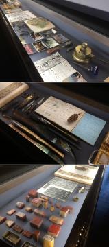艺术家创作中的工具以及艺术家的文献资料