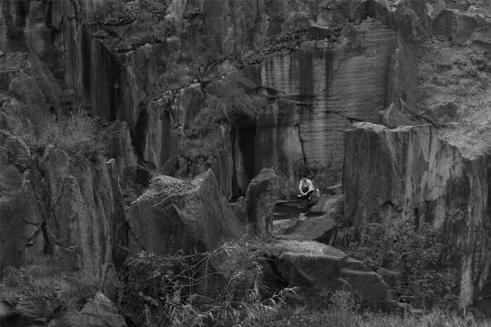 艺术短片《愚公移山》外景地