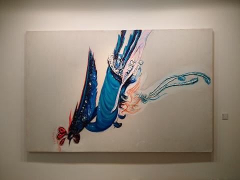《凤凰》 190×290cm 布面油画 2015