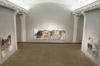癫狂与绚烂  异色状态——张旭东作品展在白盒子艺术馆开幕,冯博一,张旭东