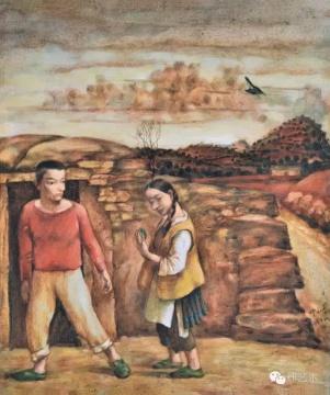 "Lot 3756 叶永青 《村外·照镜子的少女》 55×46cm 布面油画 1991  估价:60万-80万元    华雨舟:从叶永青上拍的最高成交作品记录不难看出,其90年代初前后所创作的作品几乎占了大半。同时这个时期也是叶永青创作转型期的前奏,其重要性不言而喻。这件《村外·照镜子的少女》少有的在构图中出现日常生活里的一男一女,画面的技法也可以看到一些西方宗教绘画、立体主义的影子。作为""西南艺术家群体""的重要成员之一,叶永青的这件作品无疑是具有重要的学术及收藏价值。    推荐作品二十一:顾德新 《A03》——按理来说,这个估价是根本拿不下的"