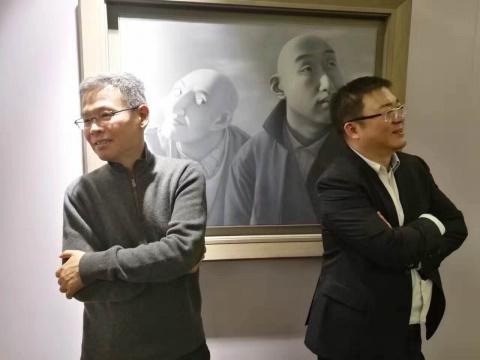 余德耀与赵旭在《系列一之五前》