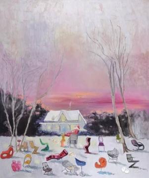 段建宇 《他的名字叫红2》 217×181cm 布面油画 2011  成交价:241.5万元