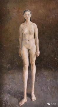 Lot 3921 王音 《栖栖》 256×140cm 布面油画 2007  成交价:184万元