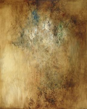赵无极 《水之音》 160.5×128.5cm 油彩画布 1956-1957 成交价:4870万港元
