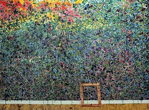 薛峰《改造-12》 150×200cm 油彩画布 2011  成交价:11.8万港元