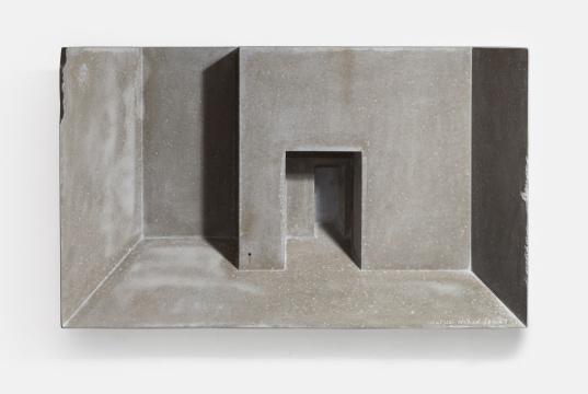 蔡磊 《裸161127》 52.5×31.5×18cm 水泥 2016