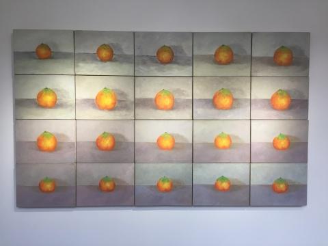 宁浩翔 《071231》 30×40cm×20 布面油画 2007