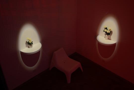 展览被布置为一个完整又充满不同解释性的房间