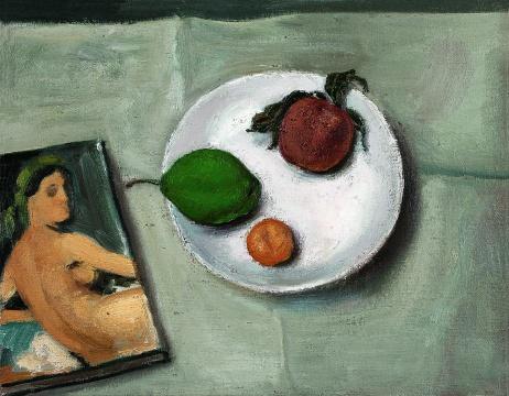 段建伟《静物》36×46cm 布面油画 2003