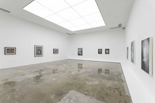 展览邀请夏小万、毛焰、马轲三位画家,由崔灿灿担任策展人,艺术家与策展人均悉数到场