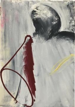 马轲 《喇叭》100x70cm 布面油画 2008