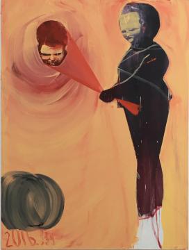 马轲 《游戏2》200x150cm 布面油画 2016