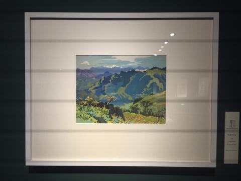 《风景写生》 27.5×36cm 水彩 1950年代