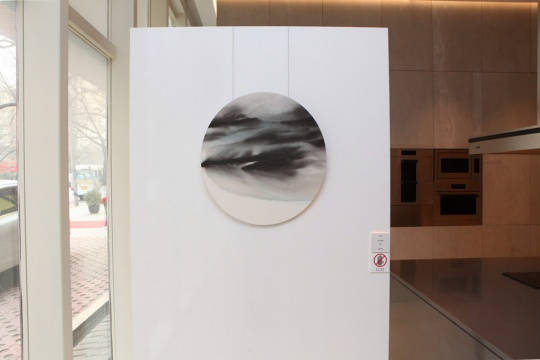 吴少英《Ink 3084》50×60cm宣纸、墨、丙烯 2013