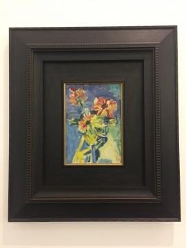 吴大羽 《无题》 34.7×24.7cm 油画 约1960(吴大羽艺术基金会提供)